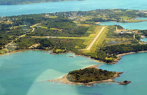 Maine's Eastport Municipal Airport is the most easterly airport in the U.S. Photo by Jim Lowe.