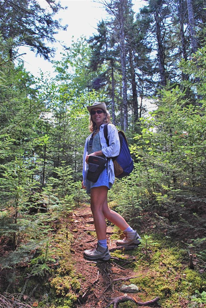 Greenville is the gateway to Maine's Northwoods, and the area is loaded with hiking trails. Photo courtesy Jackie Robidoux, @j_robidoux.
