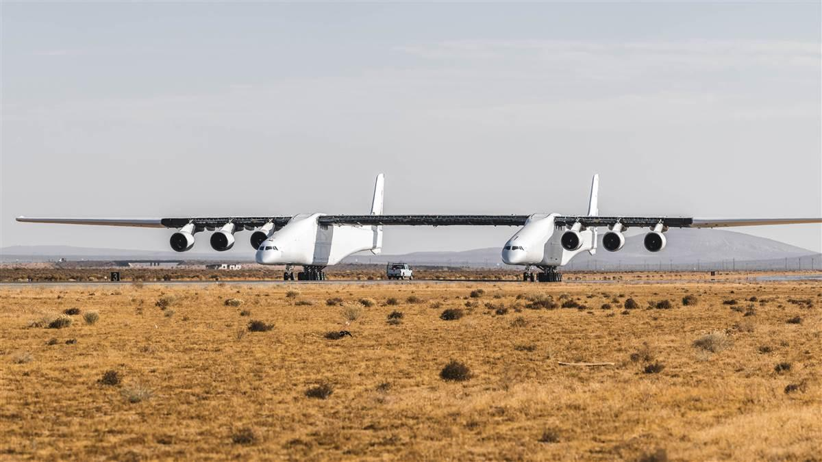 Photo courtesy of Scaled Composites/Stratolaunch.