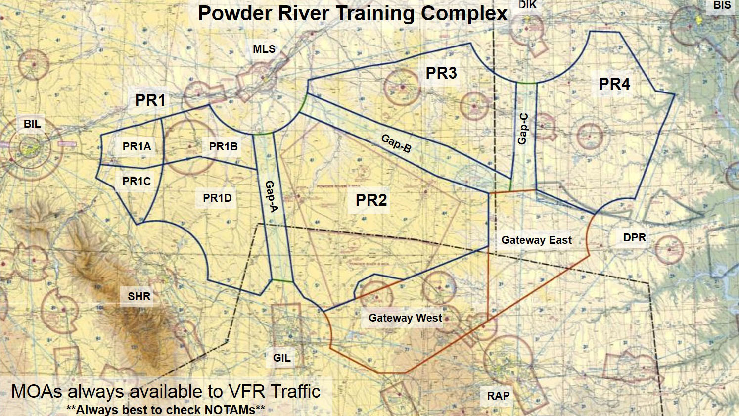 A large-force exercise named Combat Raider will take place March 14 to 16 in the Powder River Training Complex. Click to view larger image.