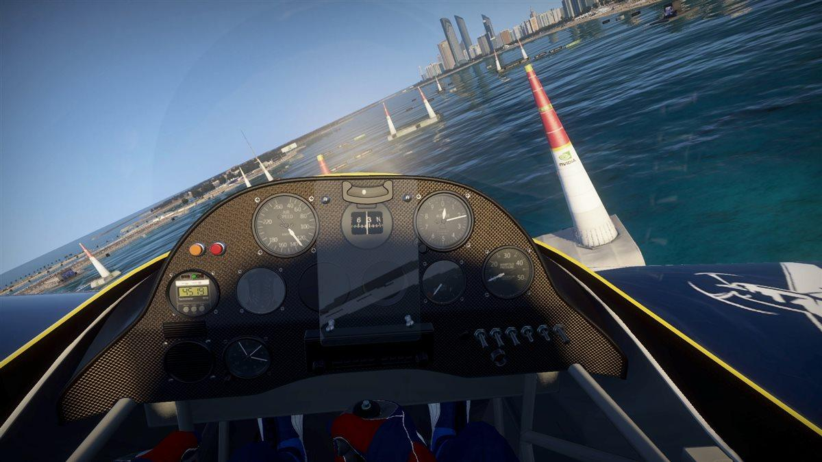 Red Bull Air Race The Game was released for PC on Jan. 25. Image courtesy of Red Bull Content Pool.