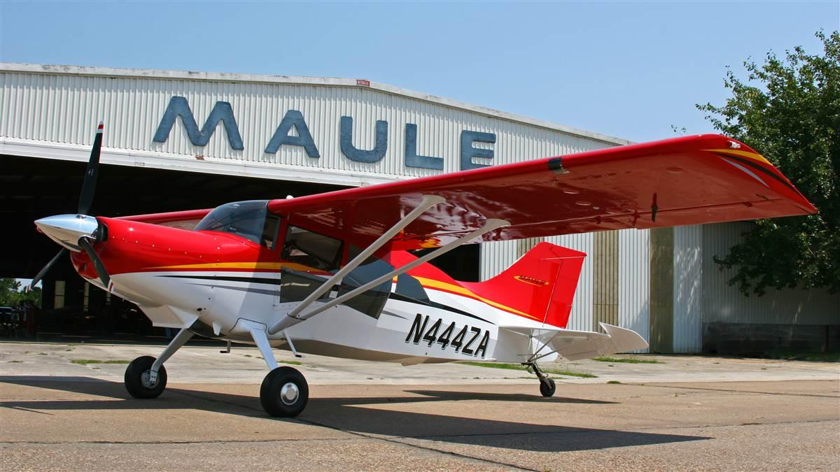 The Maule Air factory in Moultrie, Georgia, has been turning out airplanes for 55 years, all based on a tried-and-true design. The M-9 shown here is now available with power options including a Lycoming rated at 260 horsepower. Photo courtesy of Maule Air, Inc.