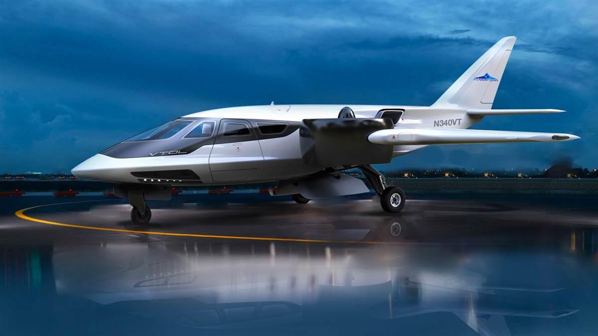 XTI Aircraft Company is collaborating with Bye Aerospace to build a hybrid-electric prototype of the TriFan 600 design. Image courtesy of XTI Aircraft Co.