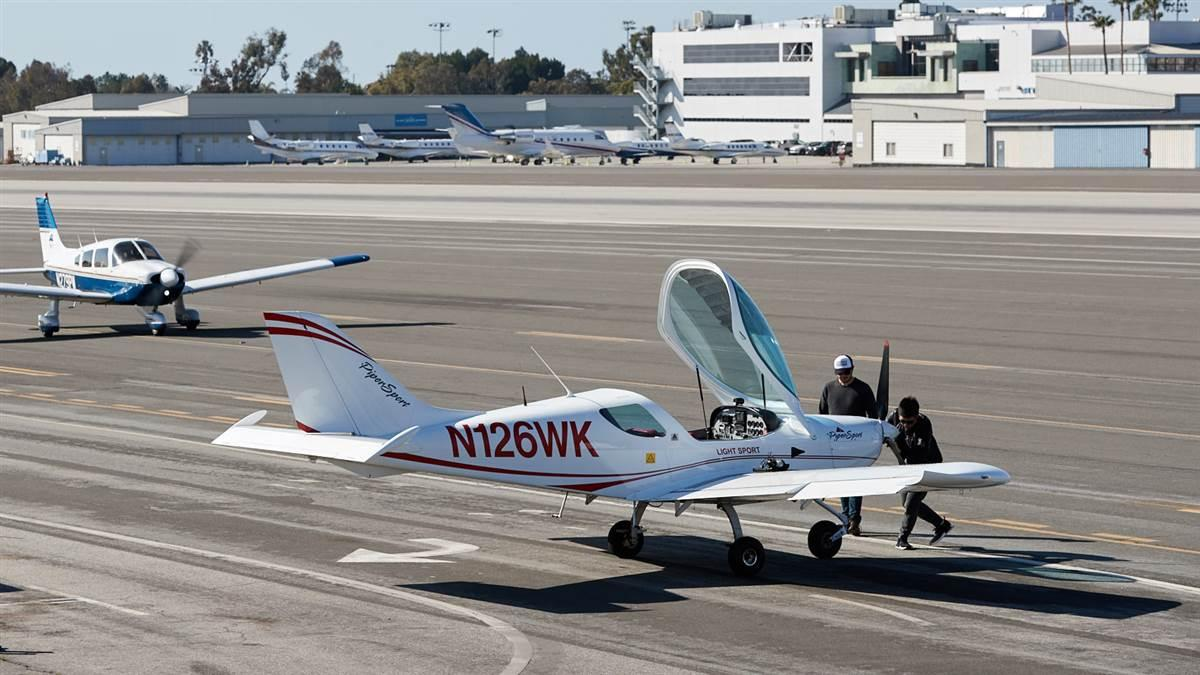 AOPA has asked federal courts to affirm any airport user will have standing to challenge any future violation of Santa Monica's obligations to operate the embattled California airport through 2028, at least. File photo.