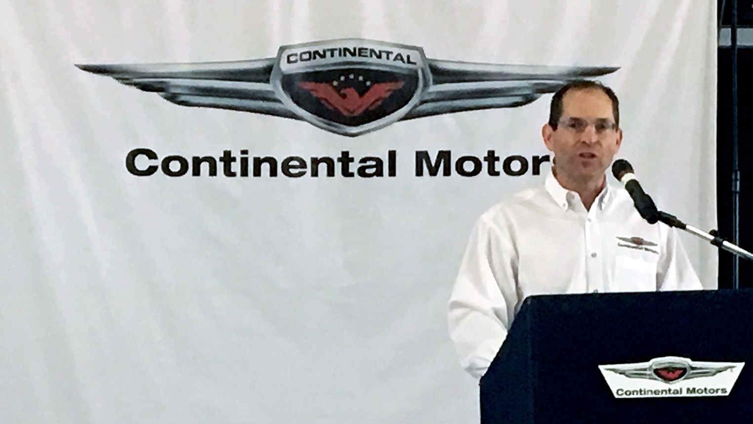 Continental CEO Rhett Ross