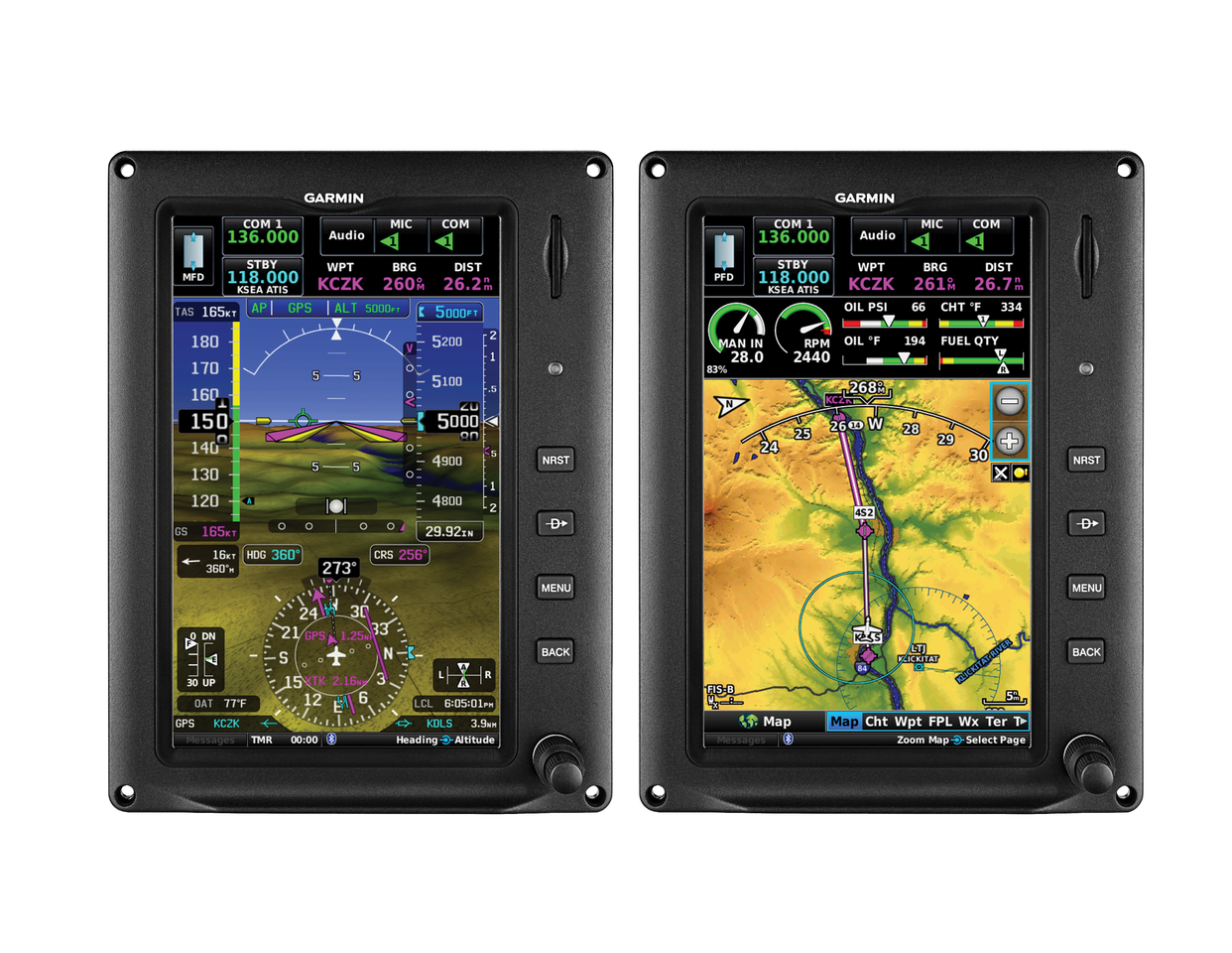 A portrait version of the Garmin G3 Touch seven-inch display will be available later in 2017 for Experimental and Light Sport aircraft.
