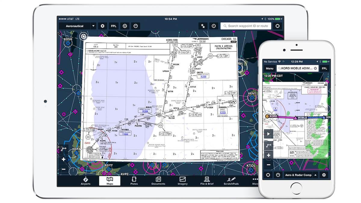 Jeppesen charts are available on ForeFlight. Image courtesy of ForeFlight.