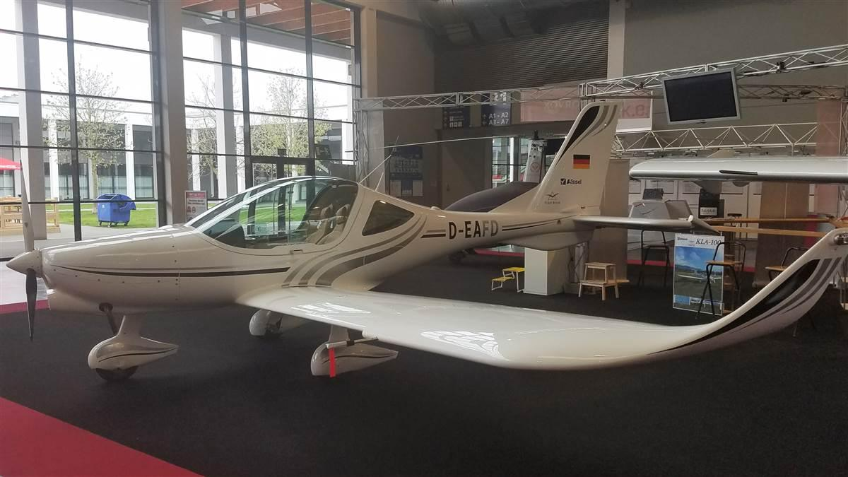 The new KLA-100 made its debut at AERO Friedrichshafen in April. Photo courtesy of Flight Design.