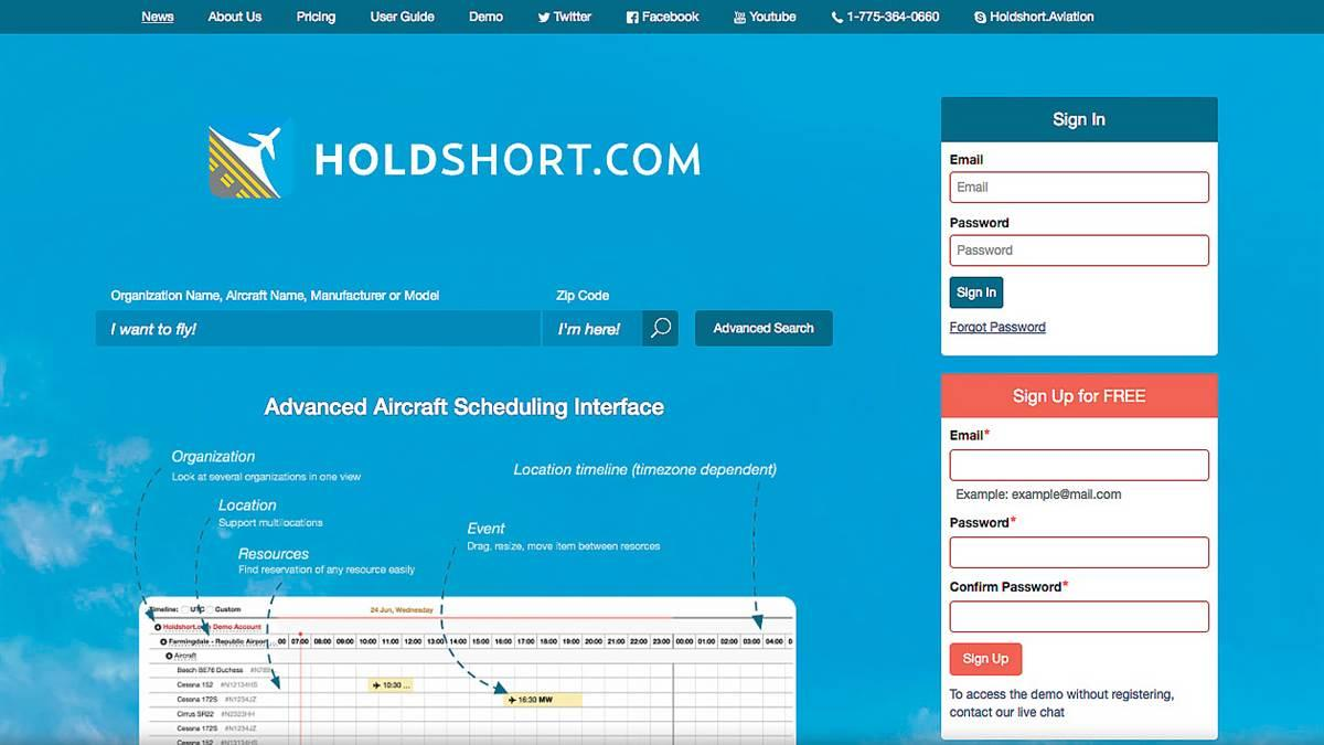 Holdshort scheduling software goes mobile - AOPA