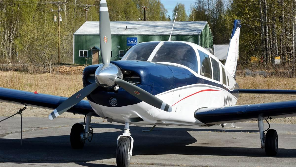 This Piper PA32 was restored to airworthy condition after a landing accident by the youthful participants of the Talkeetna, Alaska, Build-A-Plane program. Photo by Mike Collins.