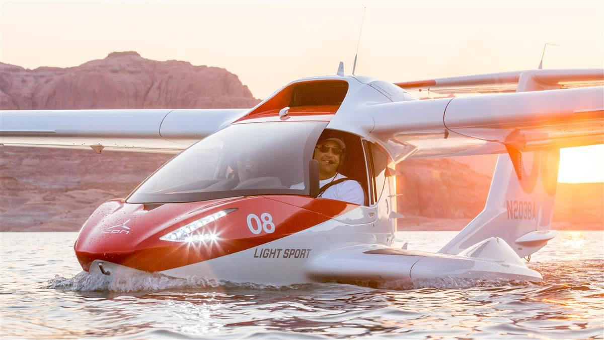 Icon A5 photo courtesy of Icon Aircraft.