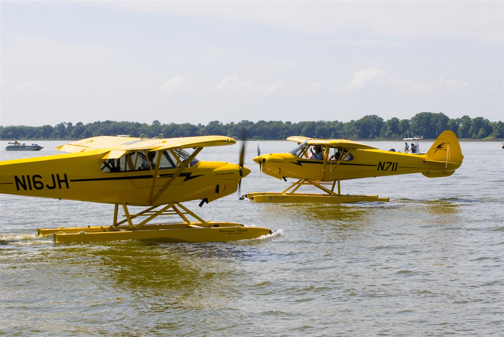 "Tavares, Florida, is enjoying a renaissance as ""America's Seaplane City."" The city hosts popular seaplane splash-ins each spring and fall, but the seaplane base sees plenty of activity year-round. Photo courtesy City of Tavares."