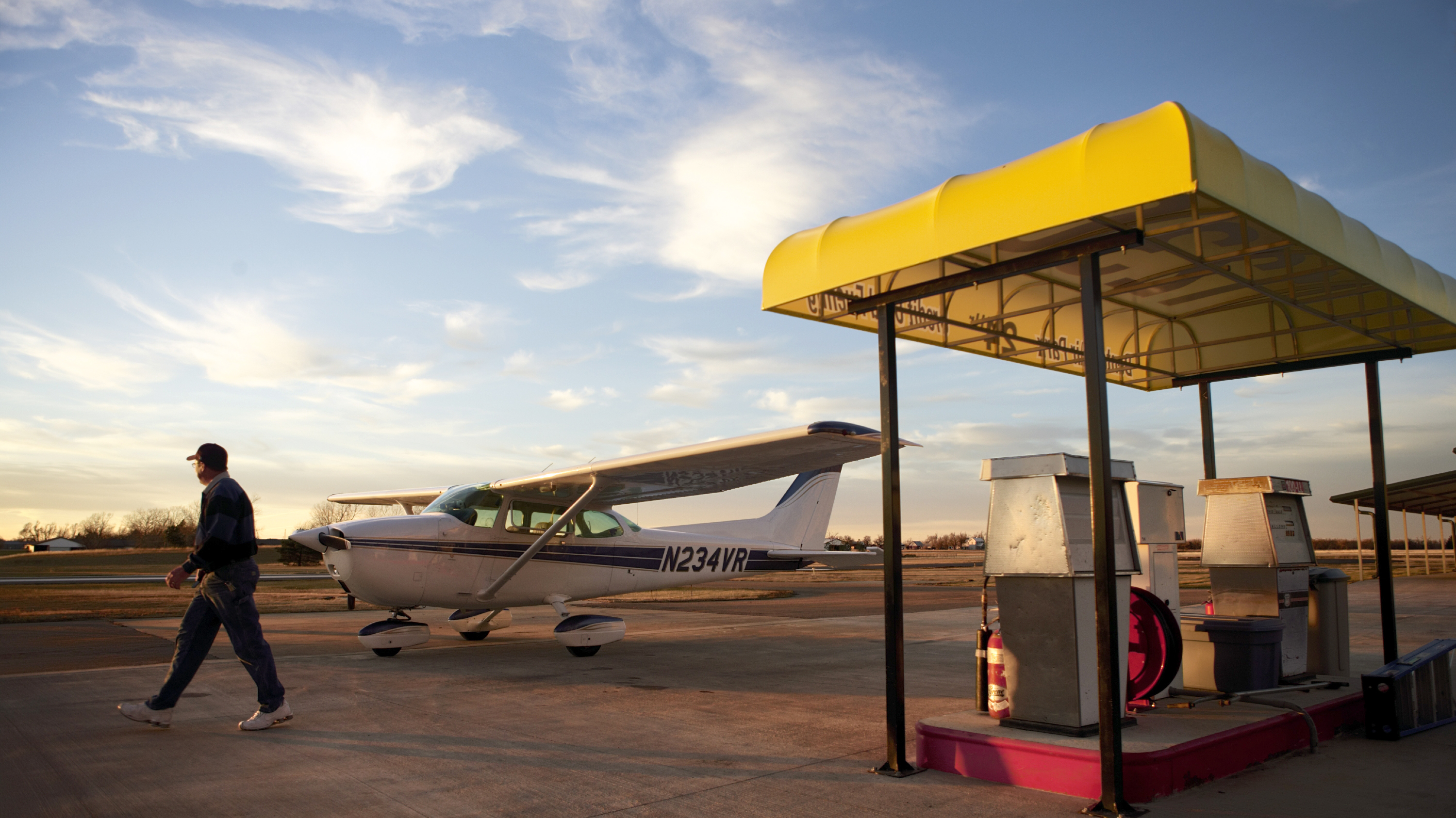 Self-serve fuel is often cheaper than getting fuel from an FBO truck.