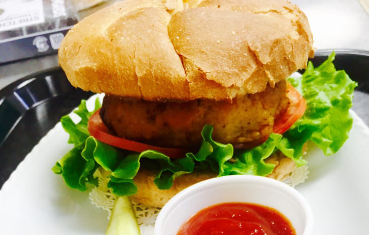 The crab cake sandwich at Kent Island Depot. Photo courtesy Kent Island Depot.