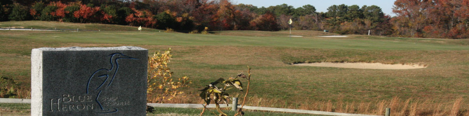 The Blue Heron Golf Course is a short walk from Kentmoor Airpark. Photo courtesy Blue Heron Golf Course.