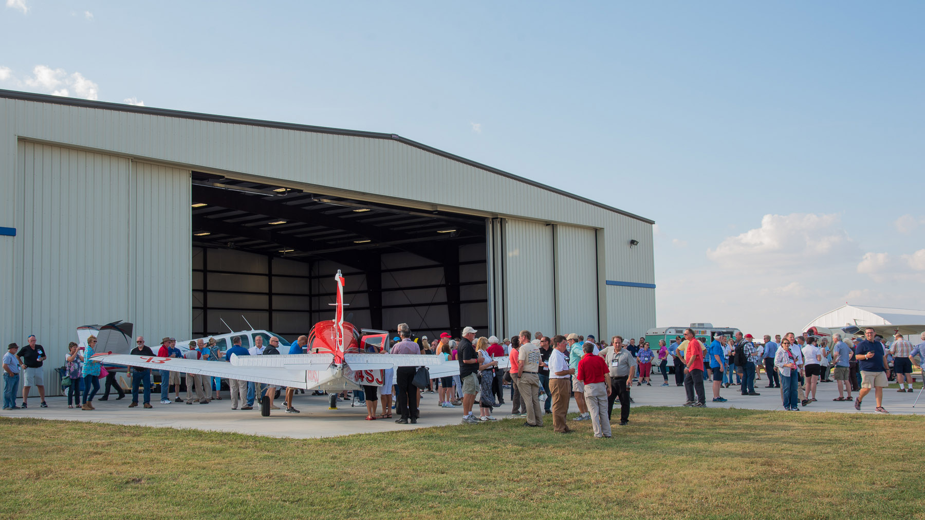Some 800 American Bonanza Society members gathered at Col. James Jabara Airport in Wichita, Kansas, to celebrate the type club's fiftieth anniversary and the seventieth anniversary of the certification and first delivery of the acclaimed Beechcraft Bonanza. Photo courtesy of Visual Media Group.