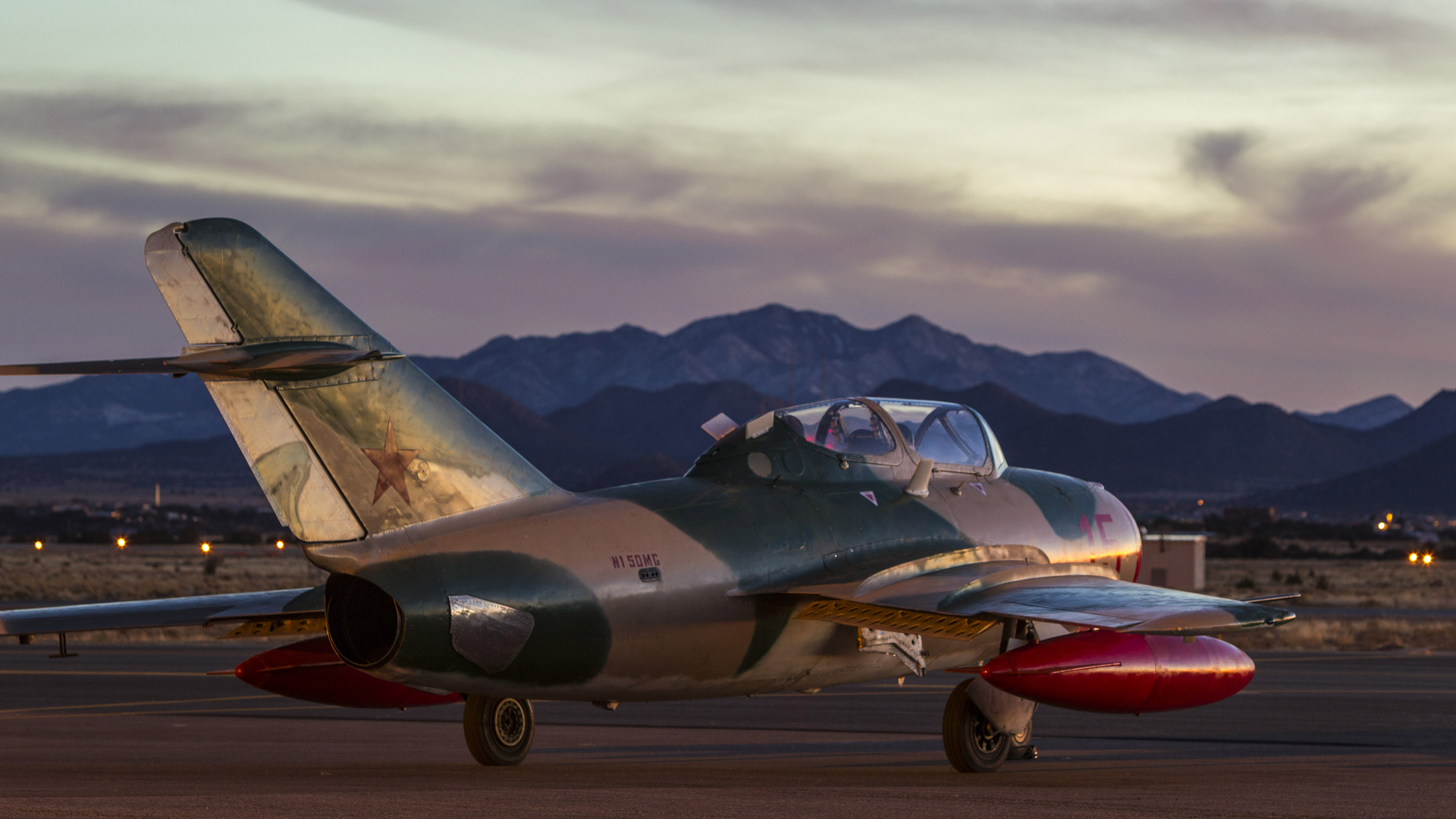 Santa Fe, New Mexico, is home of the Jet Warbird Training Center. The area offers beautiful mountain views.