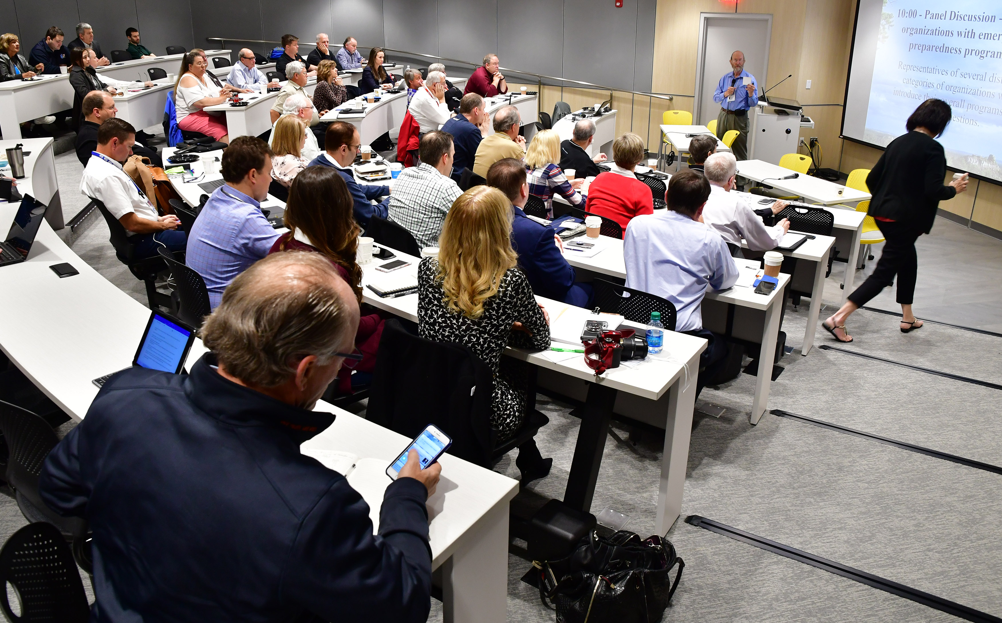Members of the Air Care Alliance attend Air Care 2018, a general aviation emergency and disaster preparedness summit at the AOPA You Can Fly campus in Frederick, Maryland, April 20, 2018. Photo by David Tulis.