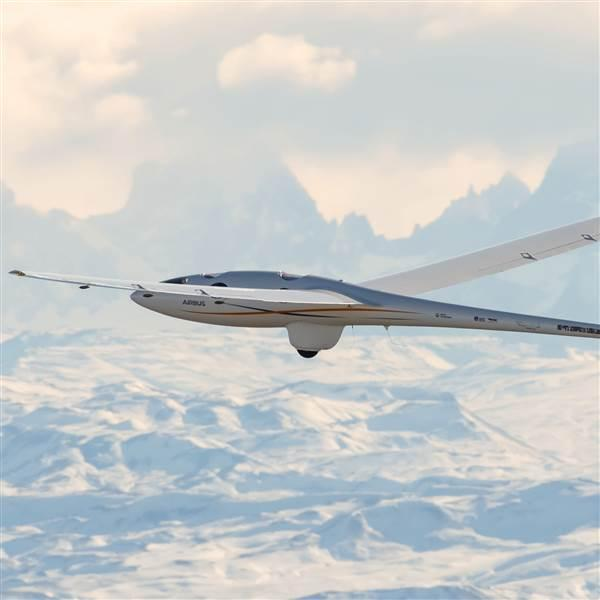 The Perlan 2 glider set a new soaring altitude record on Aug. 26. Photo courtesy of Airbus.