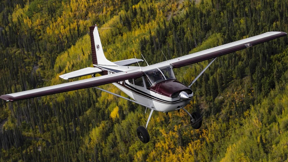 Trio Pro Pilot installations are now approved for Cessna 177, 180 (shown here), and 185 models. AOPA file photo by Mike Fizer.