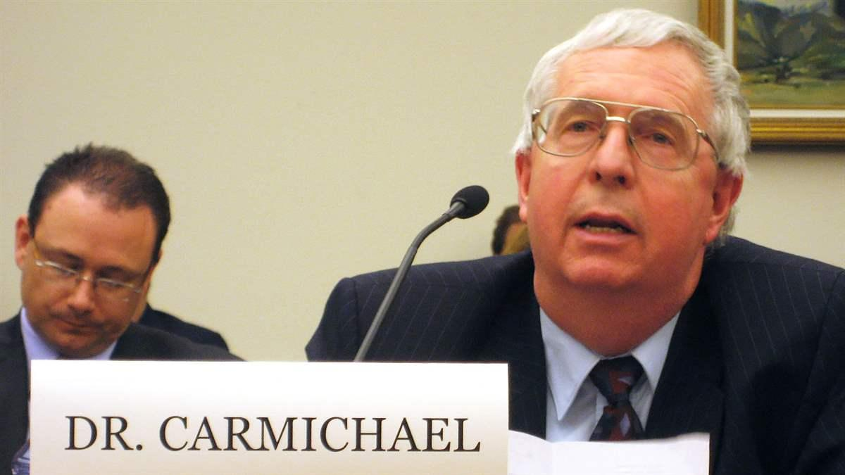 Dr. Carmichael. Photo courtesy of the National Center for Atmospheric Research and the University Corporation for Atmospheric Research.