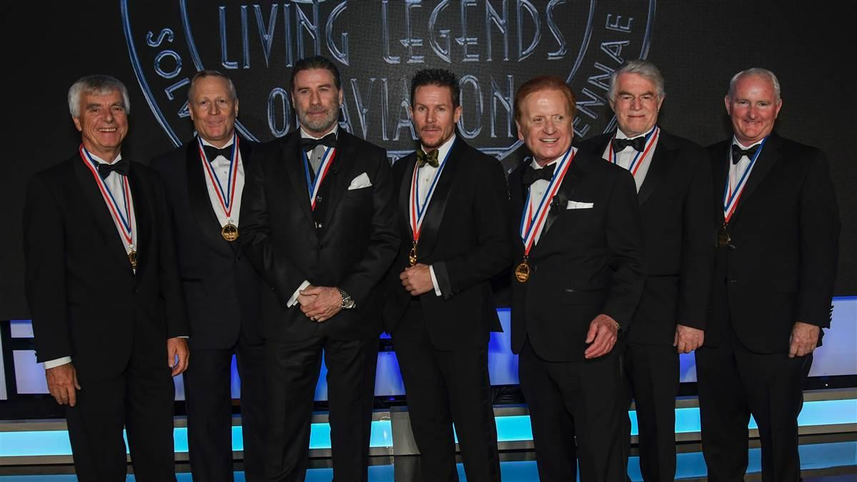 Aviation Honors Its Own At Legends Gala