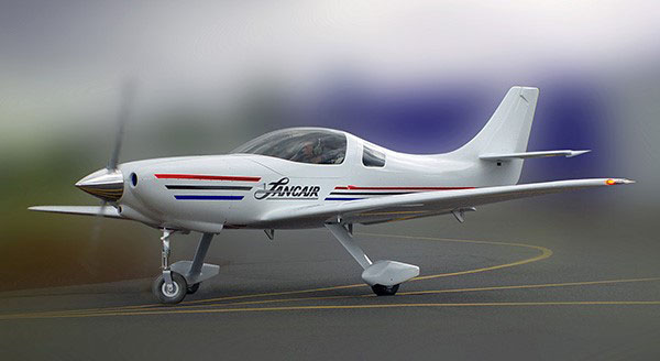 Lancair International introduced the new two-place, 200-knot Barracuda at EAA AirVenture in Oshkosh, Wisconsin. Photo courtesy of Lancair International.