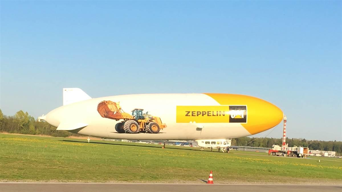 A trip in a Zeppelin NT