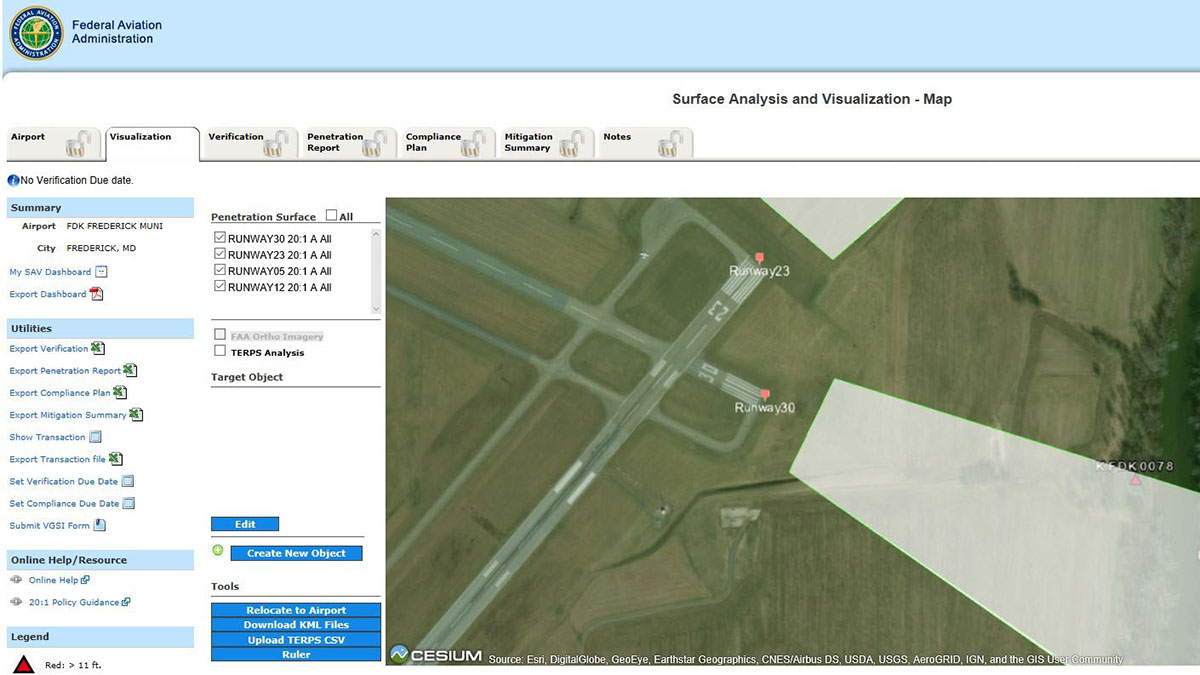 FAA updating tool that helps airports identify obstructions - AOPA
