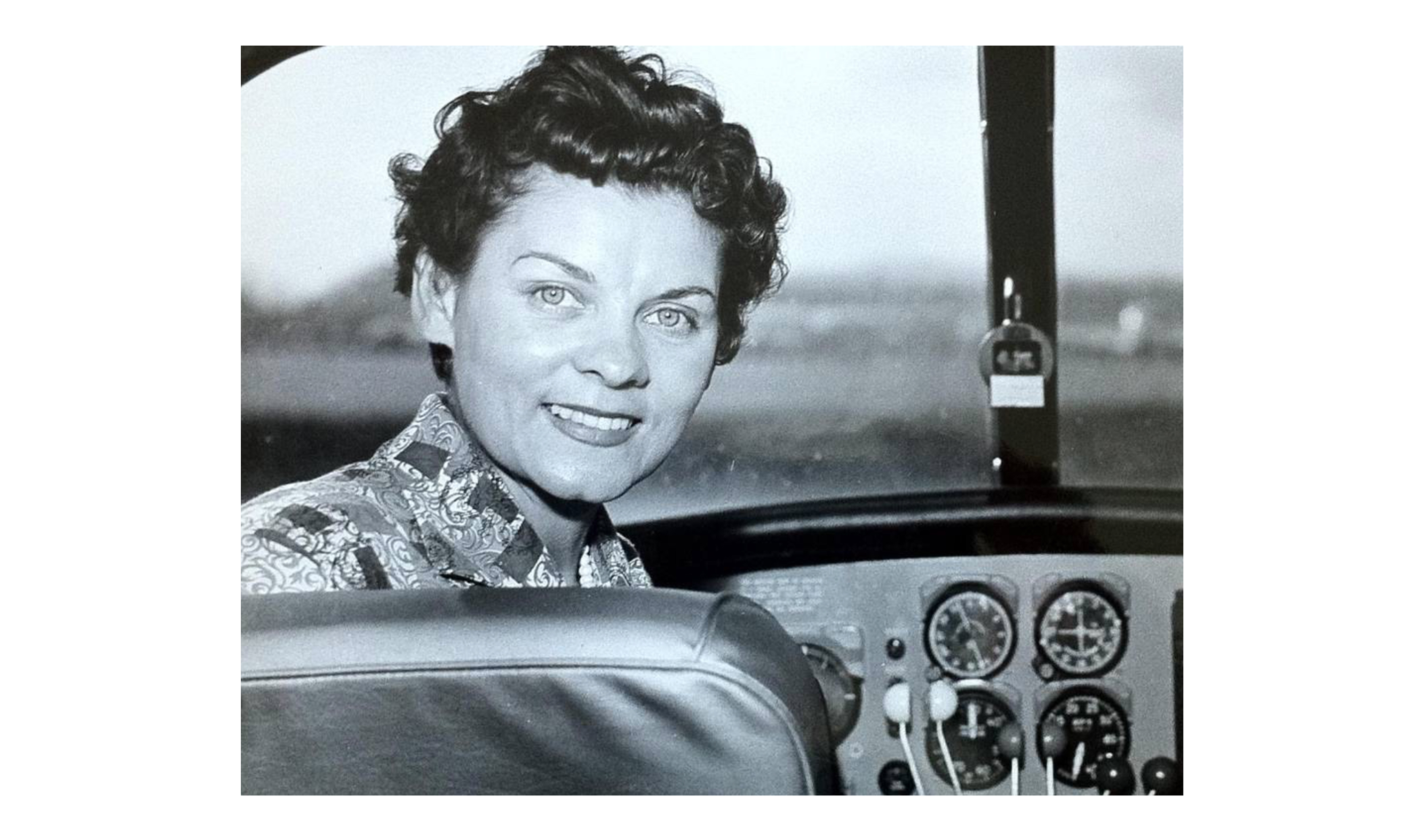 Groundbreaking female pilot Frances 'Fran' Bera, who set a world altitude record and taught and examined pilots for more than seven decades, died Feb. 10 in San Diego, California, at age 94. Photo courtesy of Leslie Day.