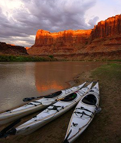 Navtec's Labyrinth Canyon float down the Green River departs from Moab and ends at Mineral Canyon. With two aircraft, you can leave one at the airstrip and the other at Canyonlands Airport, float the river, and not have to drive back. Photo courtesy Navtec Expeditions.
