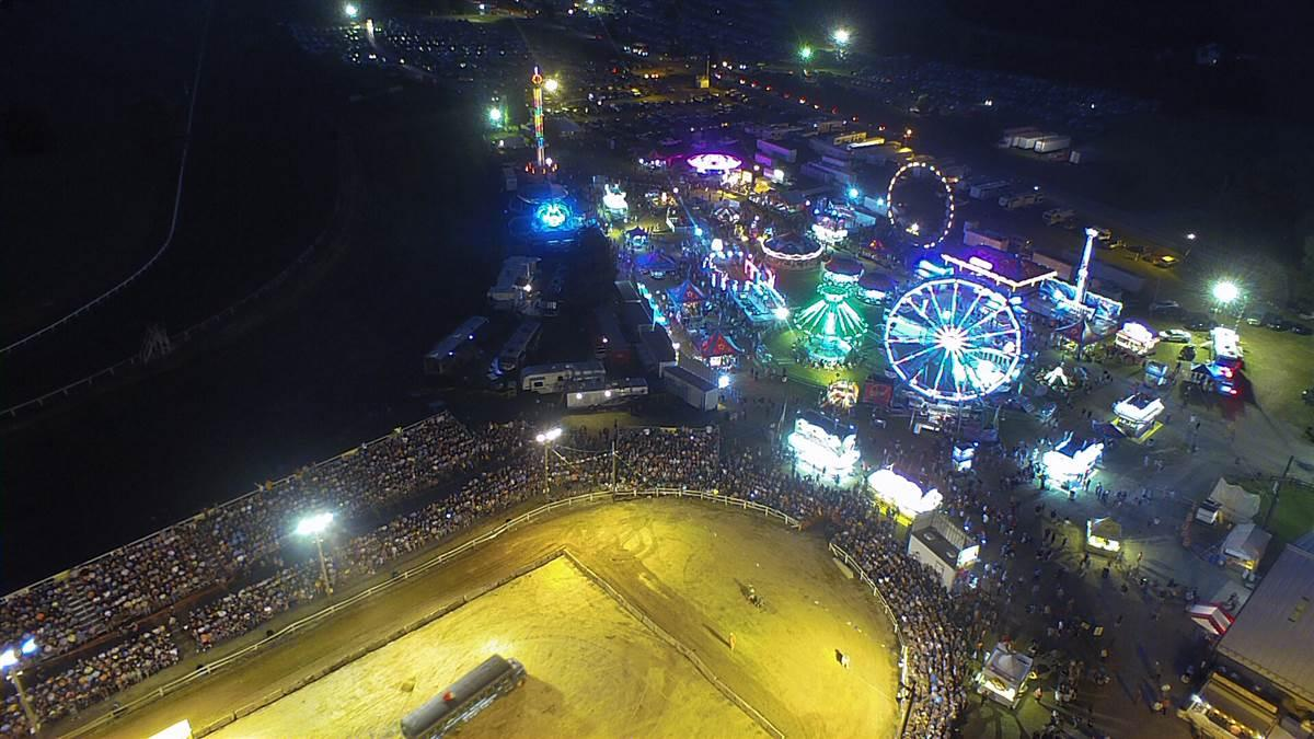 The sheriff in Cecil County, Maryland, has found drones are an effective tool to conduct aerial security patrols at the county fair, day or night, among other missions. Photo courtesy of Cecil County Sheriff.