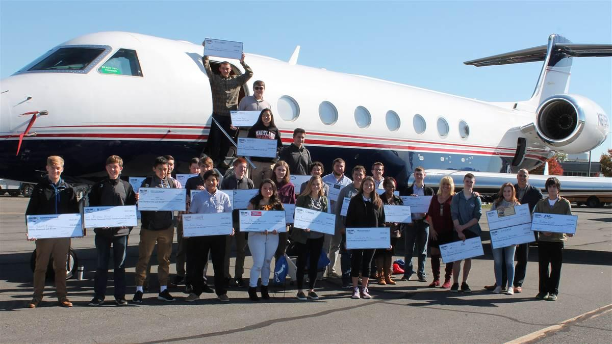 Scholarships totaling more than $200,000 await students during the twelfth annual Aviation Education and Career Expo at Leesburg Executive Airport in Virginia. Photo courtesy of Alimond Photography, PropJet Aviation.
