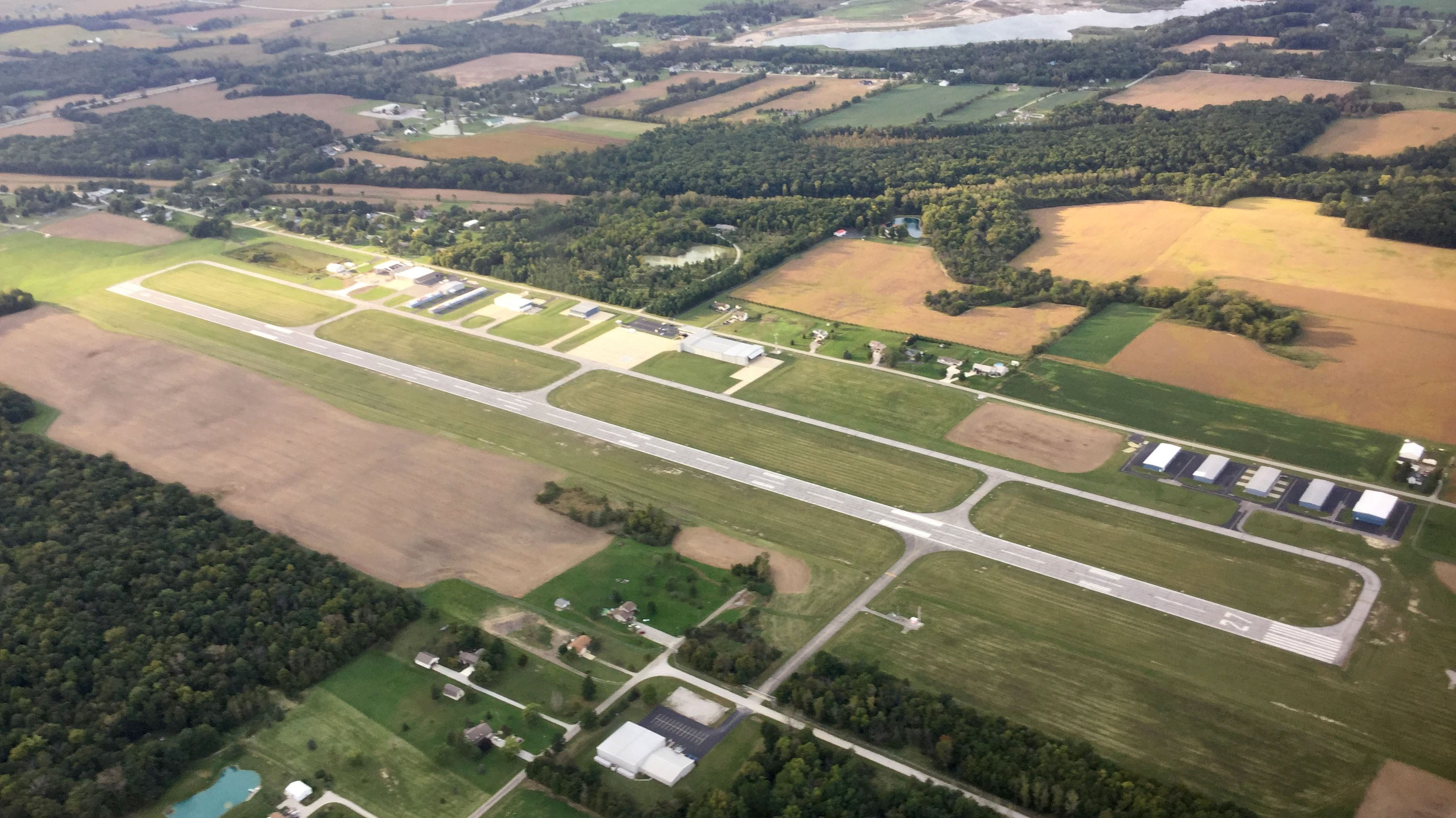 DeKalb County Airport in Auburn, Indiana, is just four miles from the Auburn Cord Duesenberg Automobile Museum. Photo by Jason Cobb.