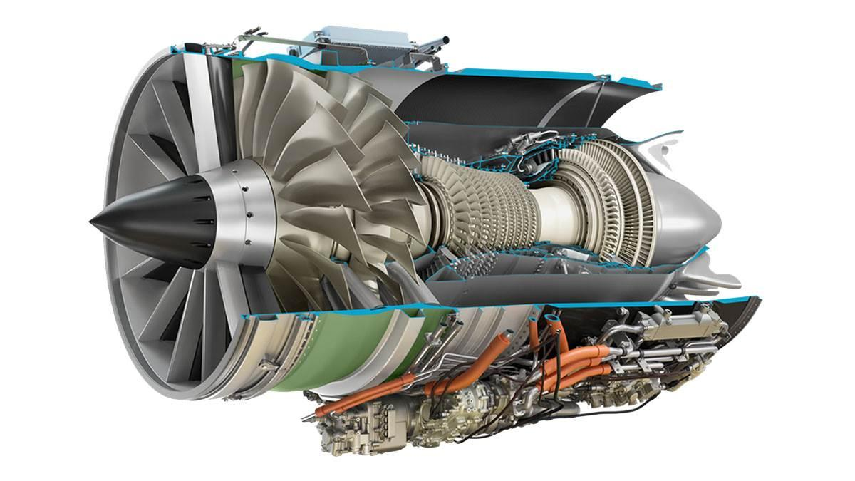 The GE Affinity turbofan engine. Image courtesy of Aerion.