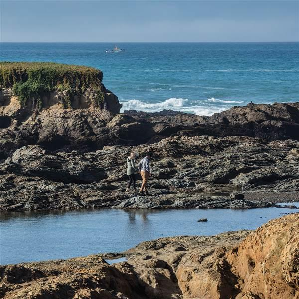 Beaches, lighthouse tours, art shows, and a chowder competition await in Mendocino, California. Photo courtesy Visit Mendocino County.