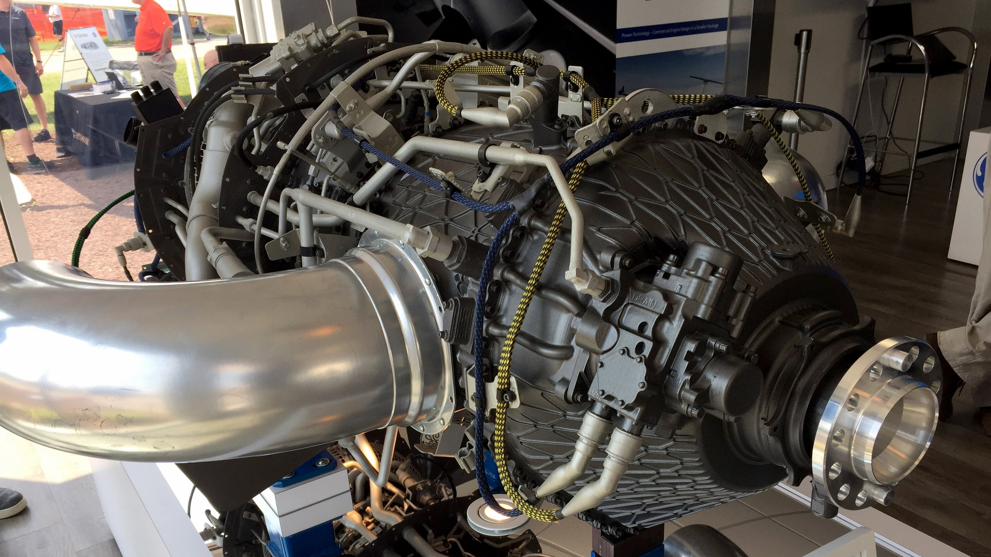 New GE turboprop bristles with technology