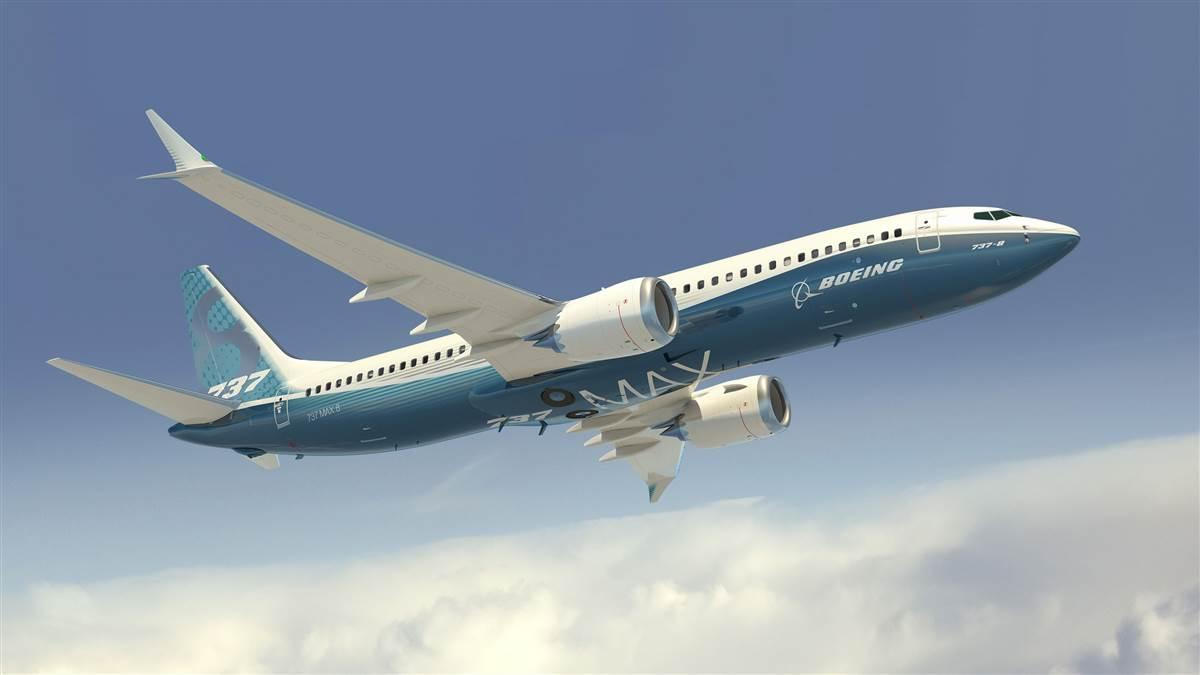 Boeing 737 MAX 8 image courtesy of Boeing Co.
