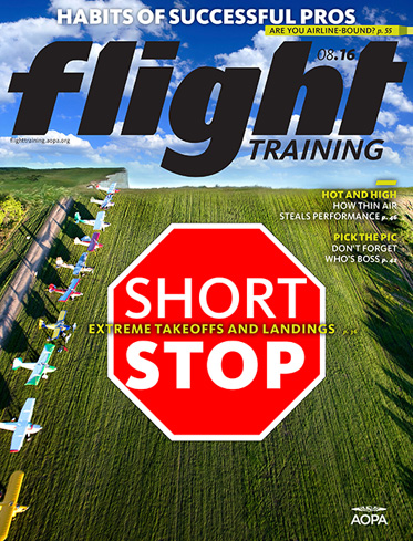Flight Training August