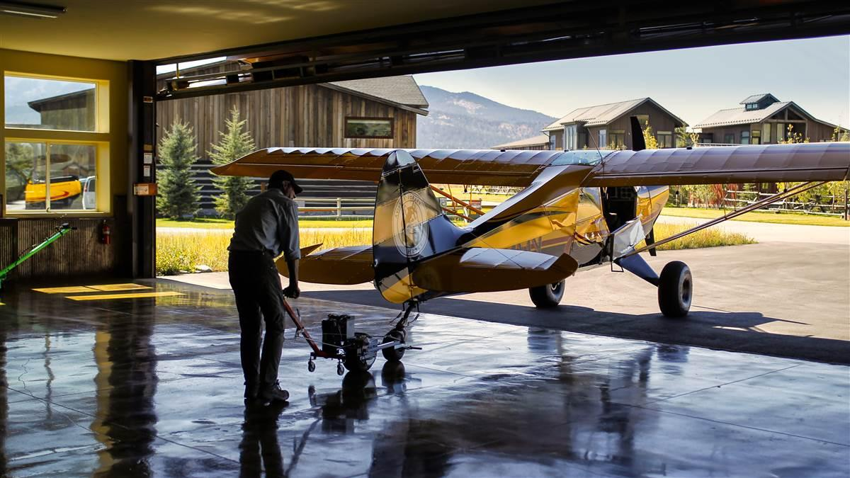 Wyoming's Alpine Airpark