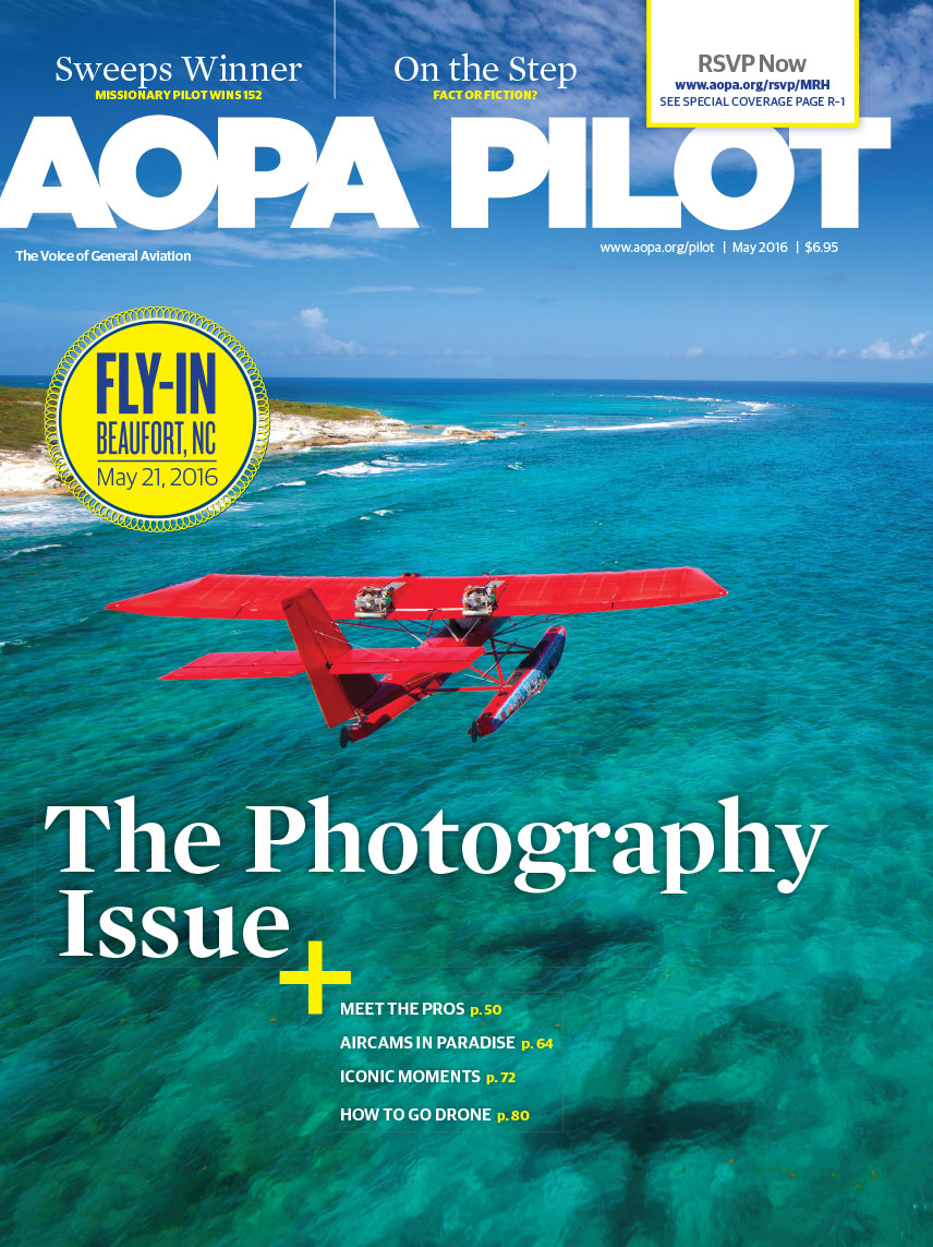 AOPA Pilot May 2016 Cover