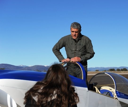 Michel Gordillo plans to fly a modified Van's Aircraft RV-8 around the world via the North and South Poles. Photo courtesy SkyPolaris.org.