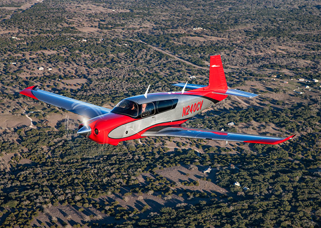 Mooney has upgraded its top-of-the line M20 Acclaim and Ovation models with new features that include a left-side door and keypad flight management system.