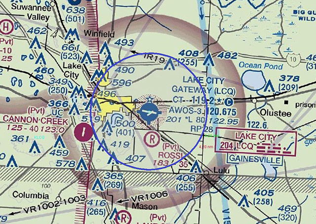 Florida's Lake City Gateway Airport will be getting Class D airspace.