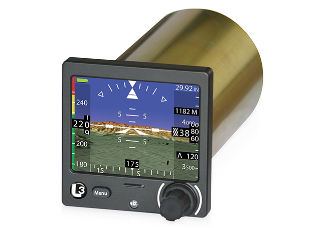 The ESI-500 electronic standby instrument system by L-3 Aviation Products can be installed in a wide variety of aircraft. Photo courtesy of L-3 Aviation Products.