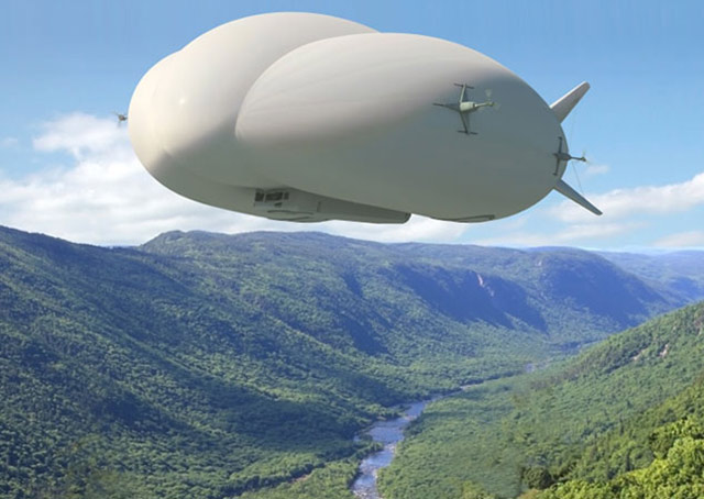 Lockheed Martin's cargo airship has 12 orders from a company in England, Straightline Aviation.