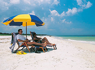 Caladesi Island is ranked as having the one of the finest beaches in the United States. Photo courtesy of St. Petersburg/Clearwater Area CVB.