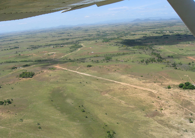 This is one of the airstrips that a pilot volunteering with Remote Area Medical would be flying into in Guyana. Photo courtesy of Remote Area Medical.