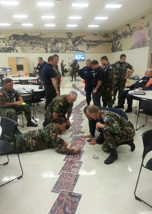 Civil Air Patrol volunteers conducted photo reconnaissance of the tornado. Photo courtesy CAP.