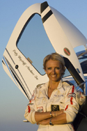 Airshow performer and aerobatic champion Patty Wagstaff